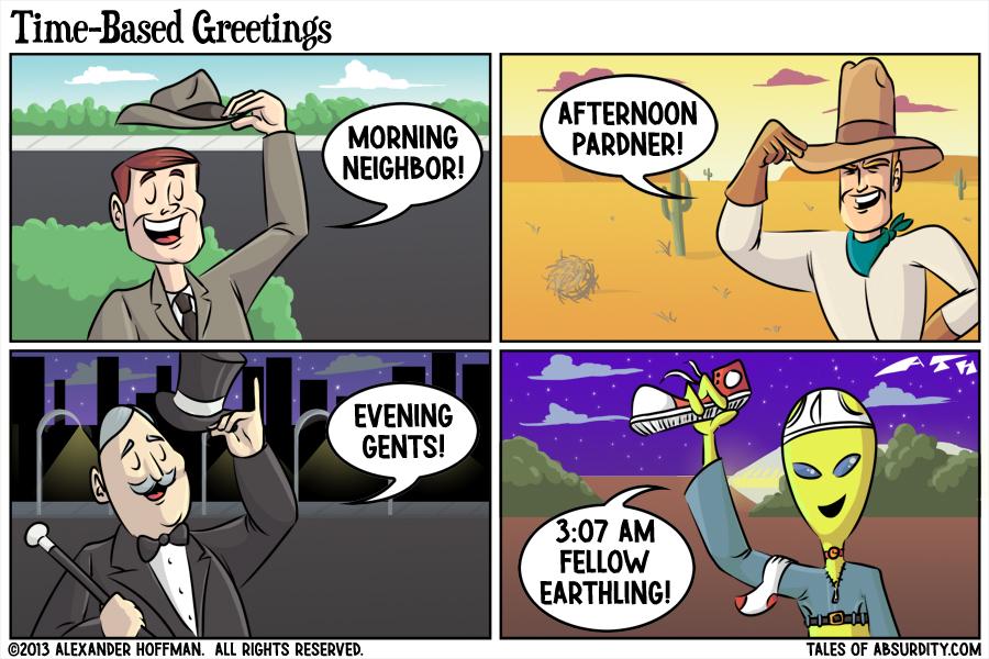 Time-Based Greetings
