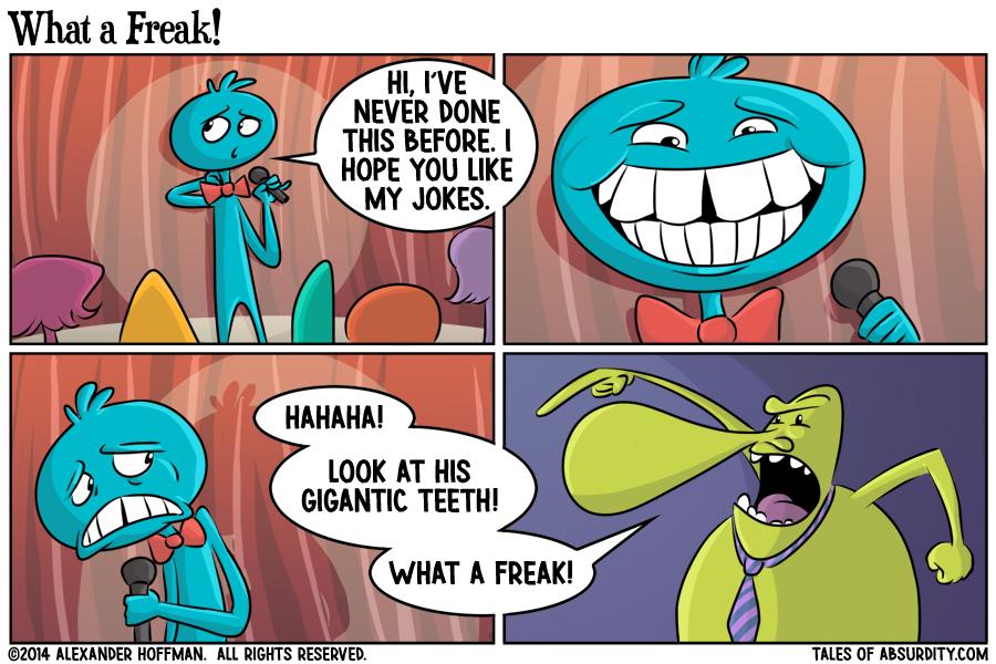 What a Freak!