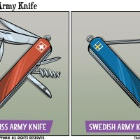 Swedish Army Knife