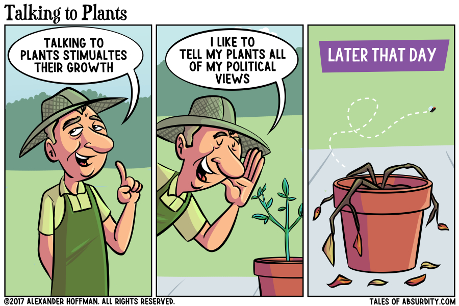 And don't get me started on bushes!