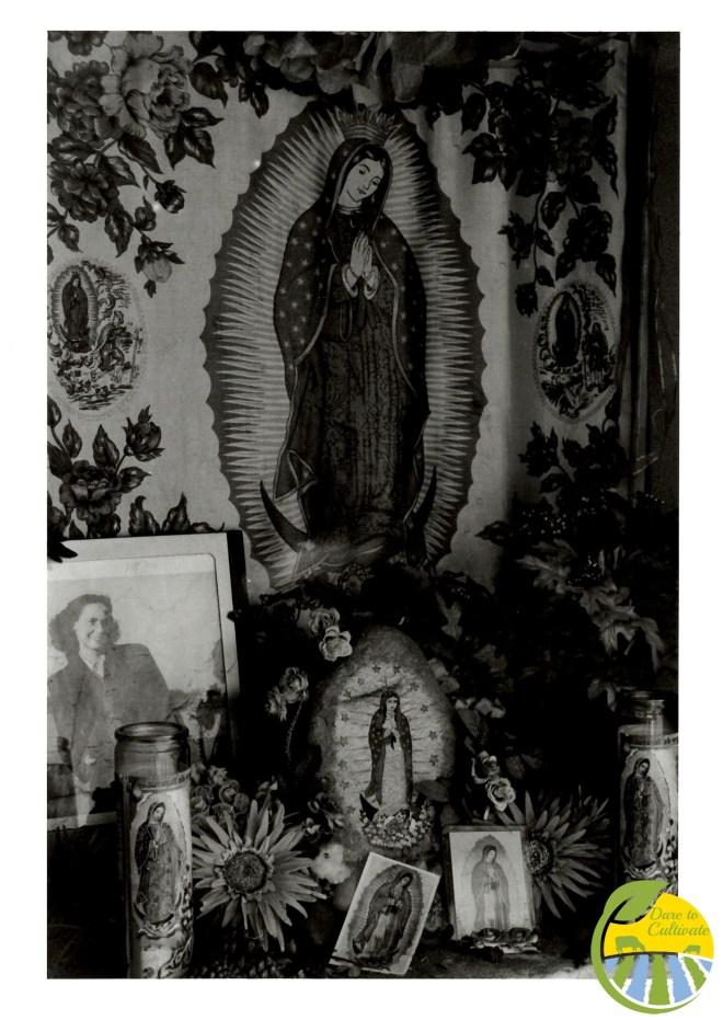 an altar in Mesilla
