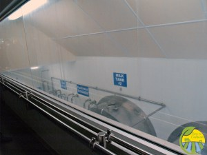 milk tank storage