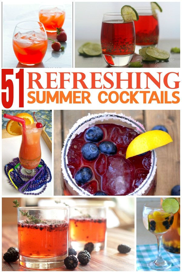 51 Refreshing Summer Cocktails | Tales of a Ranting Ginger