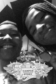 Me and Jazsy (Black and White)