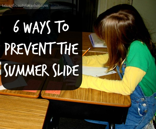prevent the summer slide