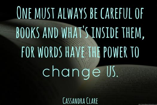 Books can change us!