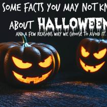 I never thought about this. Maybe I need to rethink some things about Halloween for my family.