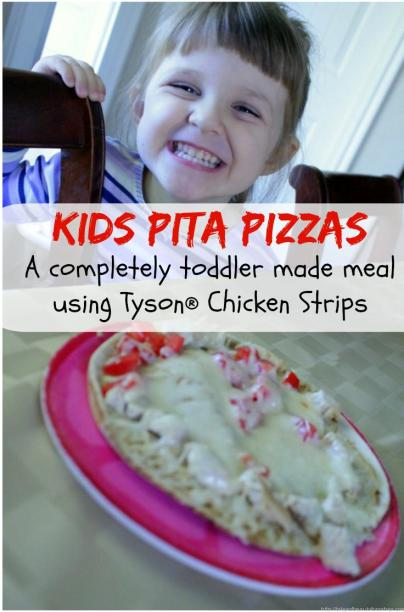 Super easy meal idea that kids can make!