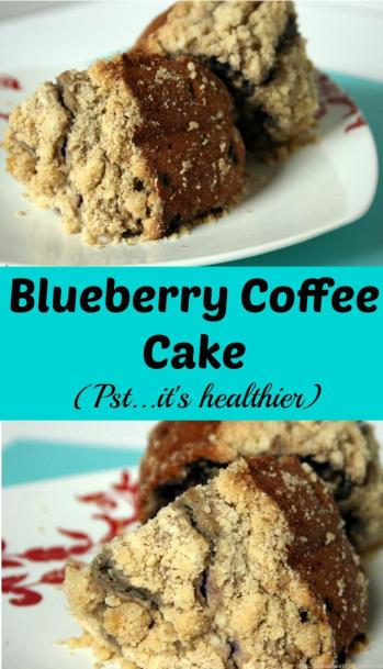 A coffee cake that's actually healthier and doesn't have a pound of butter in it. Don't feel guilty about eating the entire pan!