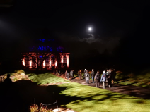 Visitors to Night in the Garden, 2014