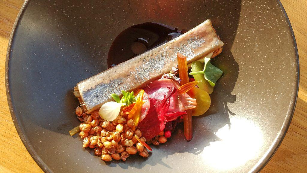 Herring salad @ restaurant Pure-C