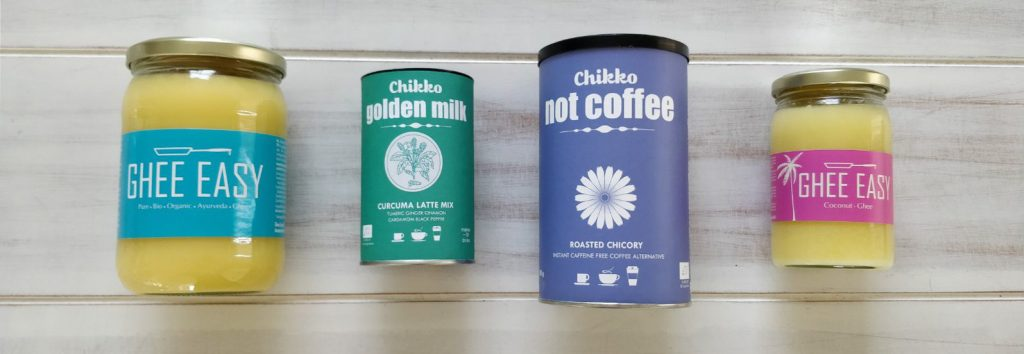Ghee Easy and Chikko not Coffee review