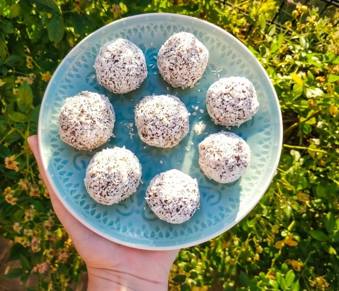Lime & Walnut Bliss Balls Recipe