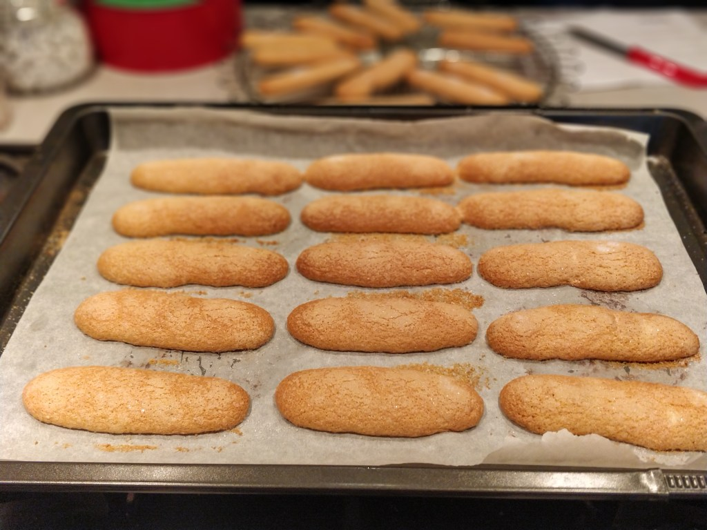 Home made lady fingers