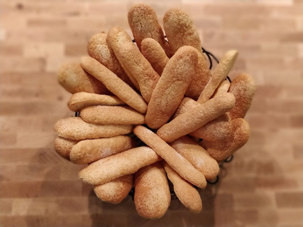 Savoiardi biscuits - Lady fingers