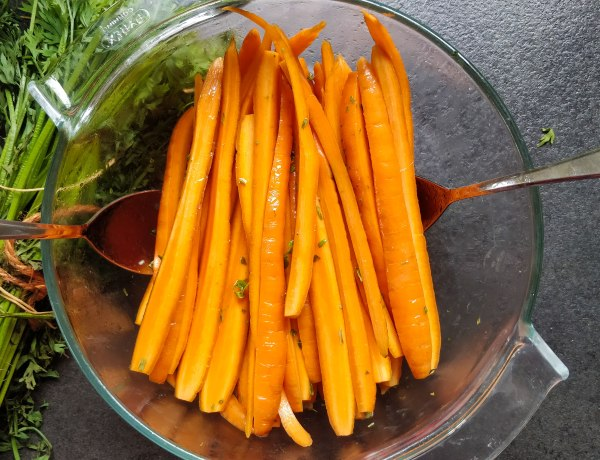 Contemporary Carrot Salad Recipe