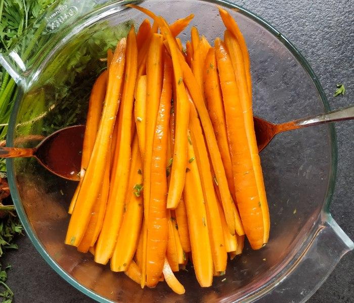 Contemporary Carrot Salad Recipe