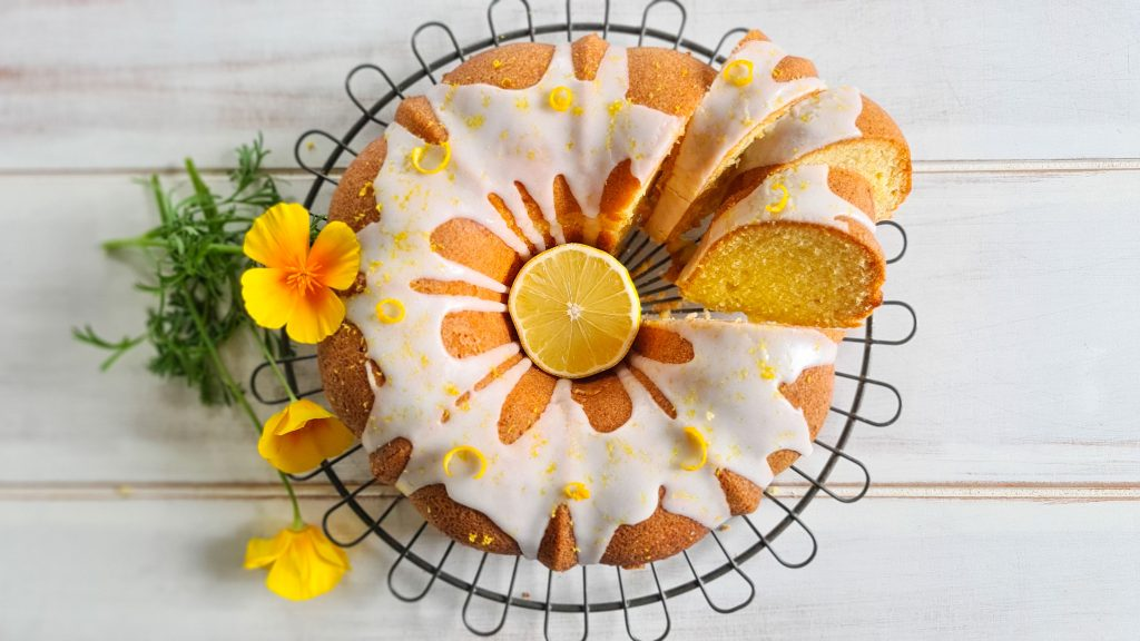 Lemon Drizzle Bundt Cake recipe
