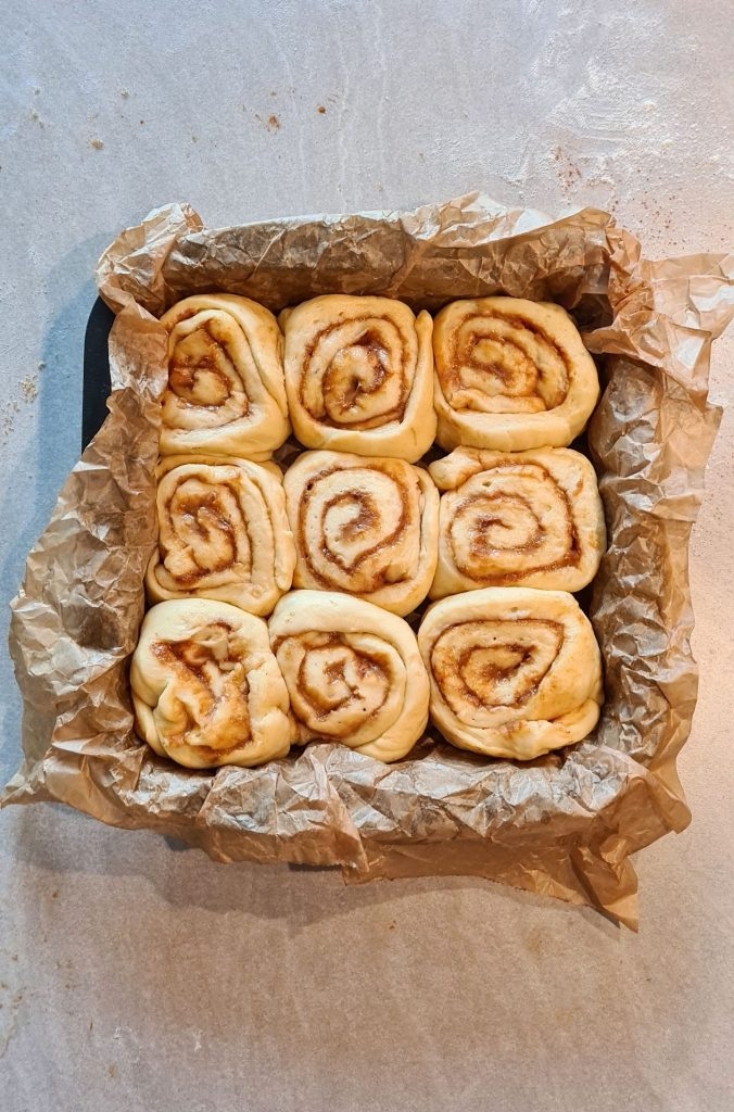 Speculoos Cookie Butter Buns rolls