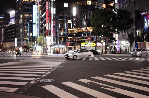 Ginza by night