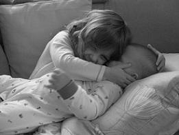 Fidget & Little Man, siterly love.