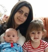 Mum with Fidget & Little Man