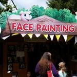 Face painting at Paradise Wildlife Park