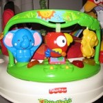 Fisher-Price Rainforest Jumperoo reviewed by Fidget & Little Man at TalesofTwoChildren.com