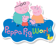 Peppa Pig World cover picture.