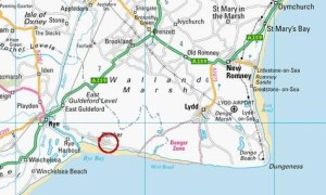Map of Camber Sands