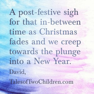 Those In-between Days of Christmas