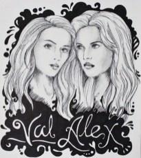 Val and Alex by Mariel Hechanova