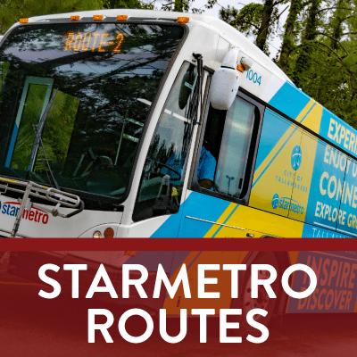 StarMetro Routes