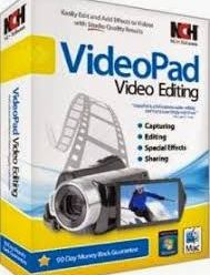 NCH VideoPad Video Editor Professional 8.34 Full With Crack  !