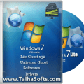 Windows 7 Lite Edition Ghost 2015 Sp3 (700MB)TalhaSofts ![Latest]