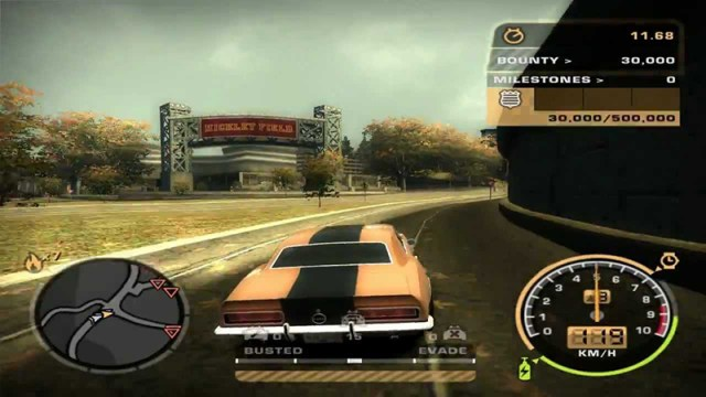 Need For Speed Most Wanted Black Edition Free Download Screen