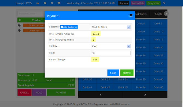 Simple POS v4.0.24 -Point of Sale Made Free Download-full Version s