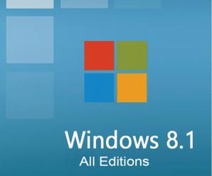 Windows 8.1 AIO 18in2 [x86/x64] 2020 Free Download !