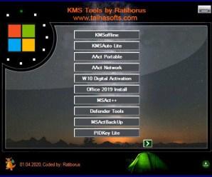 Ratiborus KMS Tools 2020 [AIO Activators] [Latest!]
