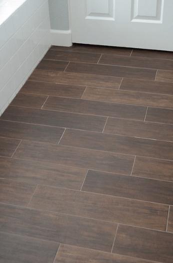 Talie Jane Interiors Is It Wood Is It Tile No Its Wood Look Tile