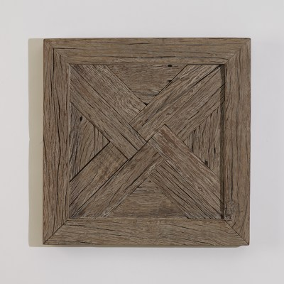 """Wall Panel, Grey Finish (3 Available) - 24"""" Square x 3""""D $165 each (plus shipping and tax)"""