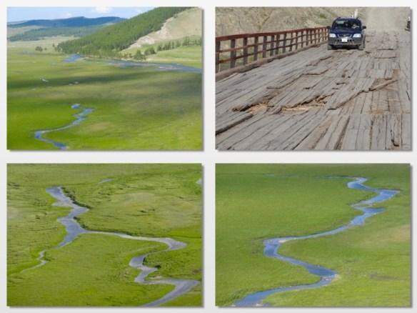 on the way to Husgol lake mongolia