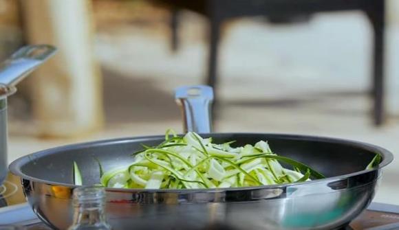 Zucchini spahetti 1