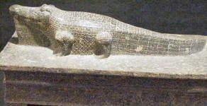 Sobek dios cocodrilo