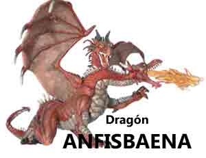 Anfisbaena dragon legend