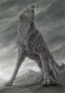 Fenrir wolf