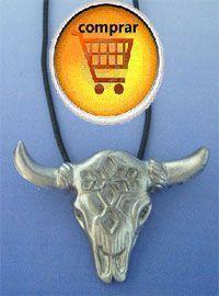 buffalo pendant