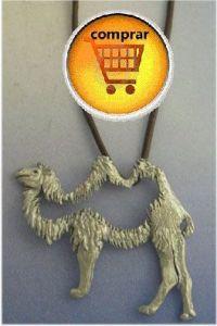 camel totem pendant silver