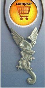 polish dragon silver pendant Wawel