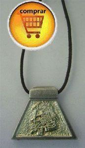 monkey aztec horoscope zodiac symbol silver pendant